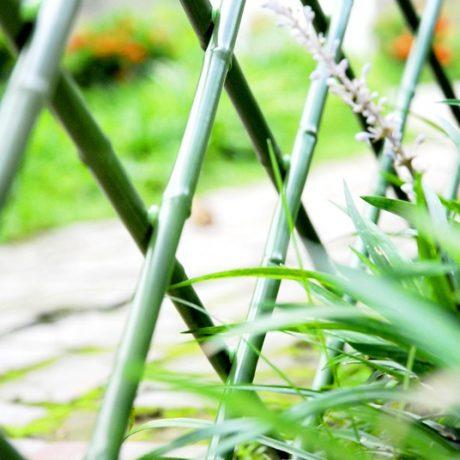 PVC伸縮仿竹圍籬